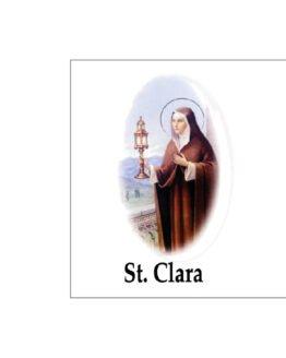 noveenkaars heilige Clara