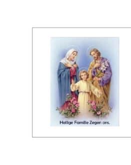 noveenkaars heilige familie